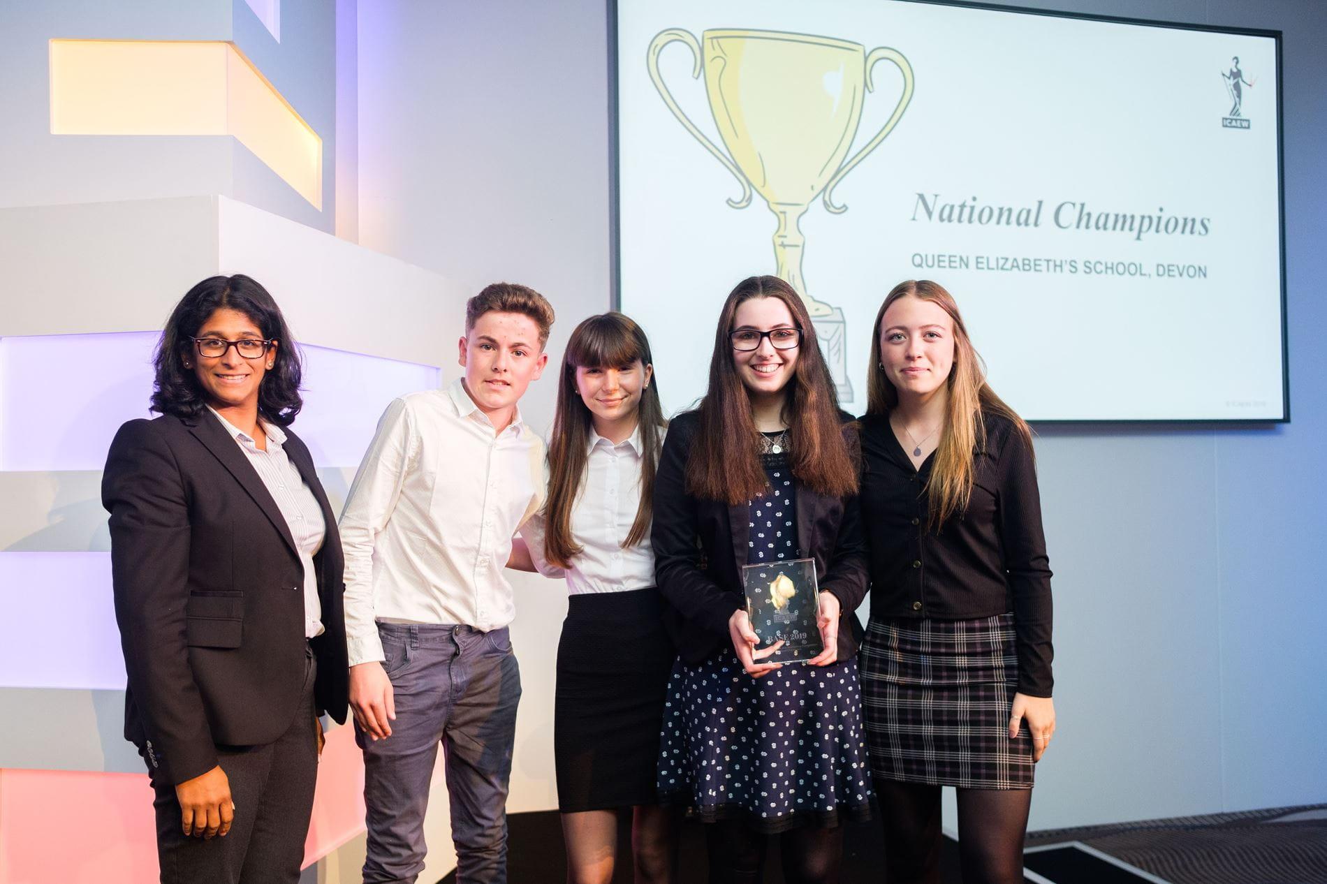 BASE 2019 National Champions - Queen Elizabeth's School, Devon