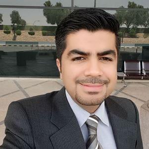 Umair Murtaza, Group Reporting Manager, AZAQ Group