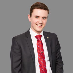 Adam Cane, Business Trainee at EY